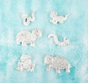 Reptiles Resin Shabby Chic Treasures - Prima