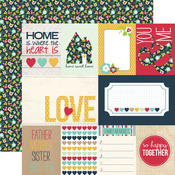 Journal Card Paper - Our Family - Echo Park