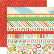 Border Strip Paper - Soak Up The Sun - Carta Bella