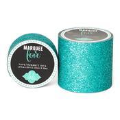 "Teal Marquee Glitter Tape - Heidi Swapp - 2"""