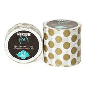 Gold Foil Polka Dot Marquee Washi Tape - Heidi Swapp - 2""