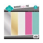 "Marquee Love Glitter 8.5""x8.5"" Glitter Paper - Heidi Swapp"