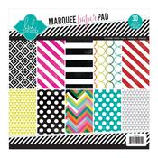 "Marquee Love Patterned 8.5""x8.5"" Paper - Heidi Swapp"