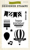 Let's Celebrate 4 x 6 Stamp Set - Echo Park