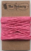 Strawberry Solid Color Bakers Twine - The Twinery