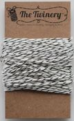 Black Metallic Shimmer Bakers Twine - The Twinery