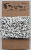 Gunmetal Metallic Shimmer Bakers Twine - The Twinery