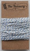 Blue Metallic Shimmer Bakers Twine - The Twinery