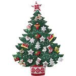 Nordic Tree Advent Calendar Felt Applique Kit