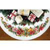 "45"" Round 11 Count - Holiday Harmony Tree Skirt Counted Cross Stitch Kit"