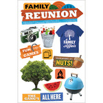 Paper House 3D Stickers - Family Reunion