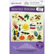 Monthly Holiday Gift Tags - Quilling Kit