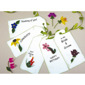 Mini Flower Gift Tags - Quilling Kit