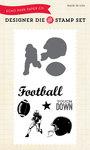 Football Stamp & Die Set - Echo Park