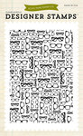 Glasses Clear Background Stamp - Echo Park