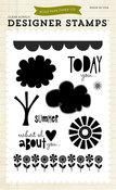 Sweet Summertime 4 x 6 Clear Stamp Set - Echo Park