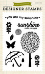 You Are My Sunshine 4 x 6 Clear Stamp - Echo Park