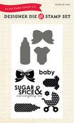 Sugar & Spice Die & Stamp Set - Echo Park
