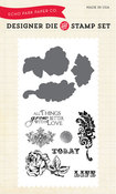 Things Grow Better With Love Die & Stamp Set - Echo Park