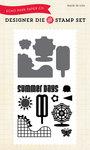 Summer Days Die & Stamp Set - Echo Park