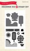 Summer Days Die & Stamp Set - Echo Park