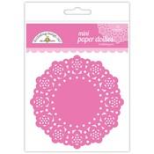 Bubblegum Mini Paper Doilies - Doodlebug