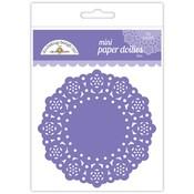 Lilac Mini Paper Doilies - Doodlebug