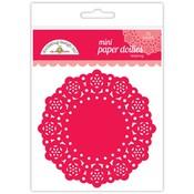Ladybug Mini Paper Doilies - Doodlebug