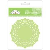 Limeade Mini Paper Doilies - Doodlebug