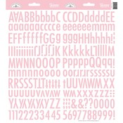 Cupcake Skinny Alphas Stickers - Doodlebug