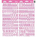 Bubblegum Skinny Alphas Stickers - Doodlebug