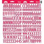 Ladybug Skinny Alphas Stickers - Doodlebug