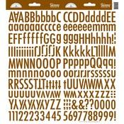 Bon Bon Skinny Alphas Stickers - Doodlebug