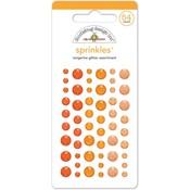 Tangerine Glitter Sprinkles - Doodlebug