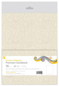 Natural Parchment 8.5 x 11 Premium Cardstock Pack - Creative Collection