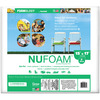 Poly - Fil Nu - Foam Pre - Cut-15 X17 X2  Fairfield-Poly Fil Nu Foam Pre Cut. A safer alternative to foam; it is flame retardant, will not yellow or disintegrate and resists mildew. It is washable, non-allergenic and ideal for chair cushions, deck furniture, futons, crib bumpers, playpens and more. Made of compressed polyester. This package contains one 15x17x2 inch poly-fil nu-foam pre-cut piece. Made in USA.