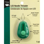 Green - LED Lighted Needle Threader