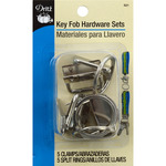 Silver - Key Fob Hardware Sets Bonus Pack