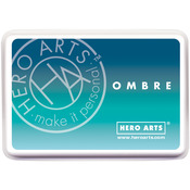 Pool To Navy - Hero Arts Ombre Ink Pad