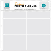 "Photo Freedom Photo Sleeves Protectors 12""X12"" 50/Pkg-(6) 4""X6"" Horizontal Pocke"