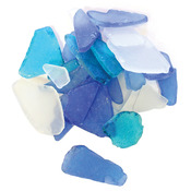 Blue & White - Gathered Sea Glass
