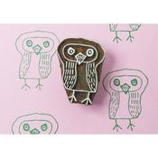 Blockwallah Block Stamp - Kind Owl