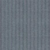 Mint Stripe Fabric Sheet - Denim Blues - We R Memory Keepers