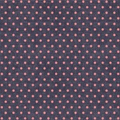 Pink Dot Fabric Sheet - Denim Blues - We R Memory Keepers