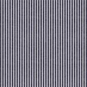 White Stripe Fabric Sheet - Denim Blues - We R Memory Keepers