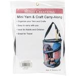 "Black - Mini Yarn & Craft Carry-Along 8""X12"""