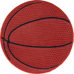 """Basketball 3.5"""" Round - C&D Visionary Patch"""