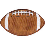 """Football 4""""X2.5"""" - C&D Visionary Patch"""