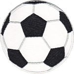 """Soccer Ball 3.5"""" - C&D Visionary Patch"""