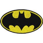 "Batman Logo 4""X2.25"" - DC Comics Patch"